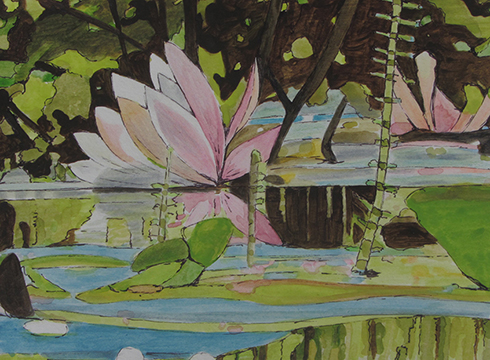 water-lilies-i