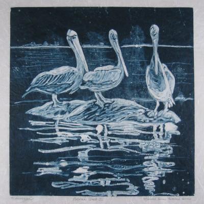 marian-sims-harris-pelicantrio-monotype-printi