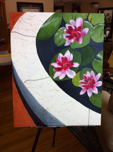lilly-pond